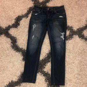 Express slightly de stressed jeans